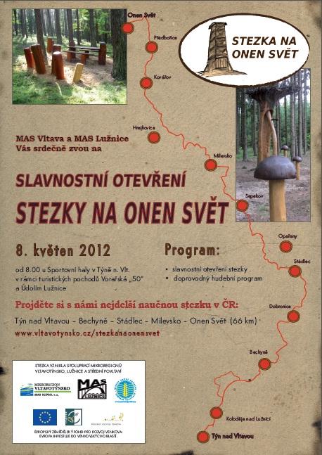 Projděte si s námi nejdelší naučnou stezku v ČR! Otevíráme Stezku na Onen Svět.